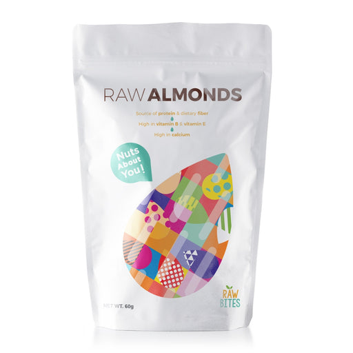 Raw Bites Raw Almonds 60g