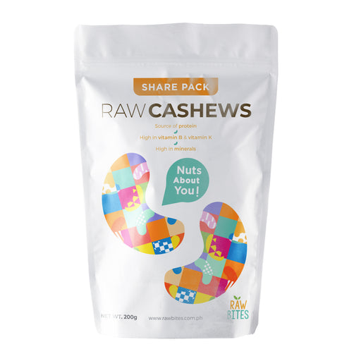 Raw Bites Raw Cashews 200g