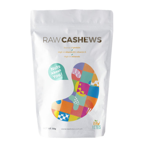 Raw Bites Raw Cashews 50g