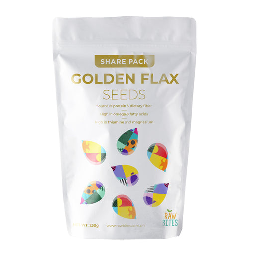 Raw Bites Golden Flax Seeds 215g