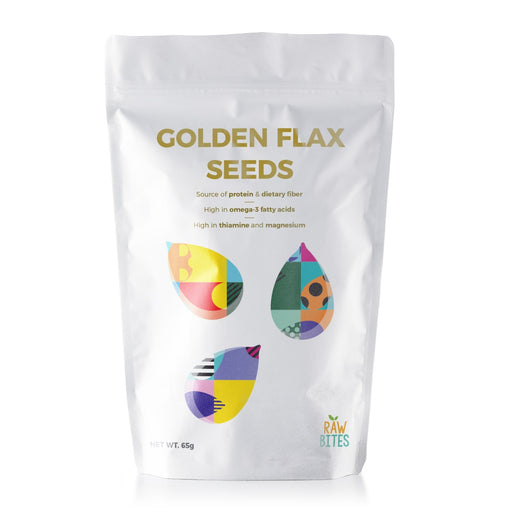 Raw Bites Golden Flax Seeds 65g