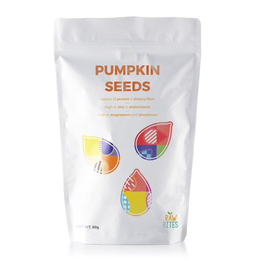 Raw Bites Pumpkin Seeds 60g