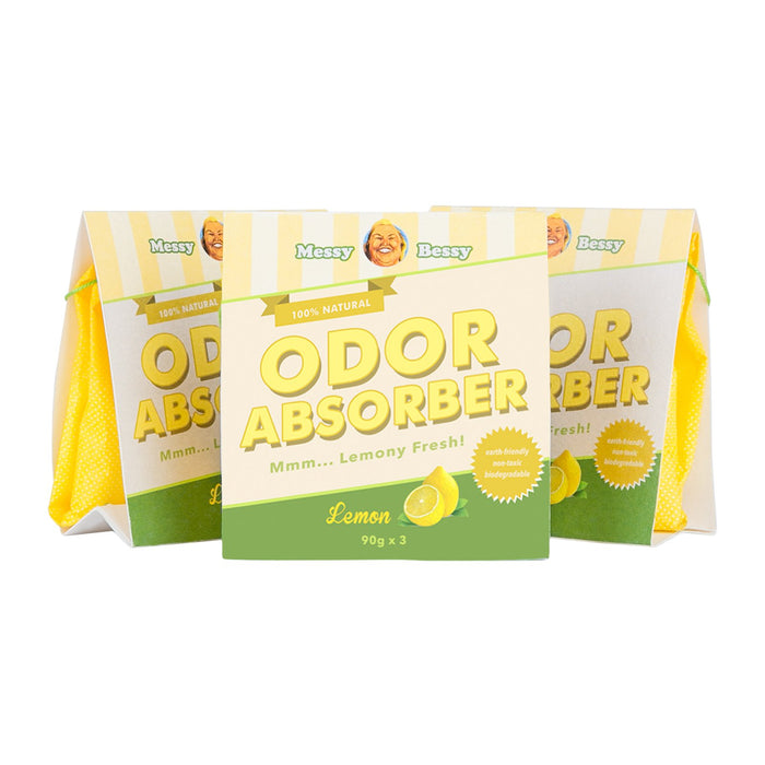 Odor Absorber Bags 90g (set of 3)