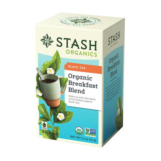 Stash Tea Organic Breakfast Blend Black Tea (18 bags)
