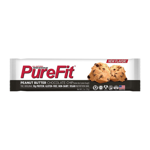PureFit Peanut Butter Chocolate Chip Protein Bar 57g