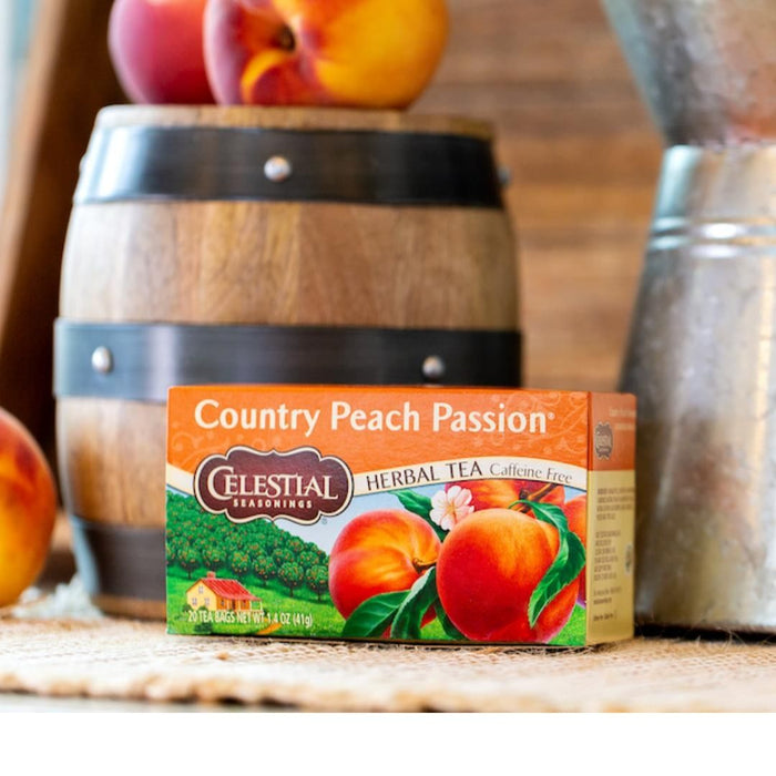 Celestial Seasonings Country Peach Passion Herbal Tea (20 bags)