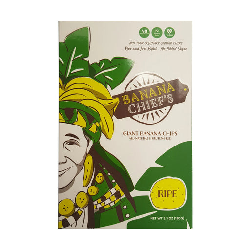 Banana Chief's Ripe Giant Banana Chips 150g