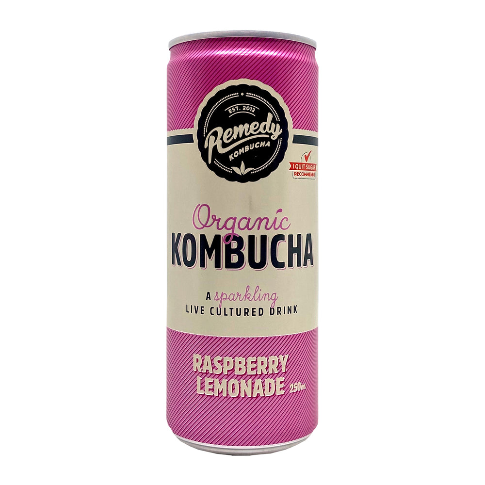 Remedy Kombucha Raspberry Lemonade 330ml