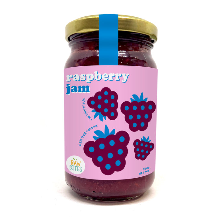 Raw Bites Raspberry Jam 260g