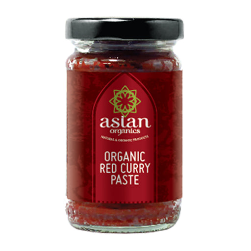 Asian Organics Organic Red Curry Paste 120g