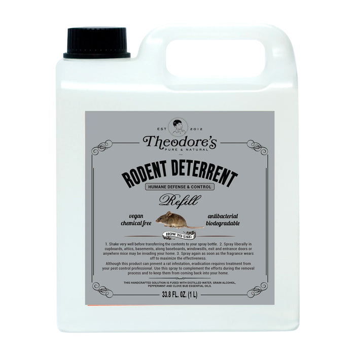 Theodore's Rodent Deterrent Refill Bottle 1L