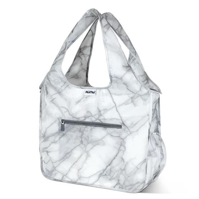 Rume Foldable Zippered Tote Marble