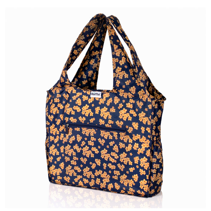 Rume Foldable Zippered Tote Marigold