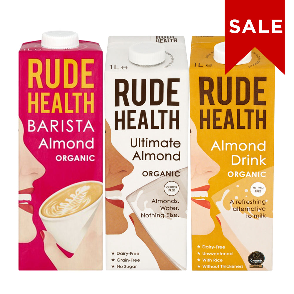 Rude Health Almond Series (3 x 1L)