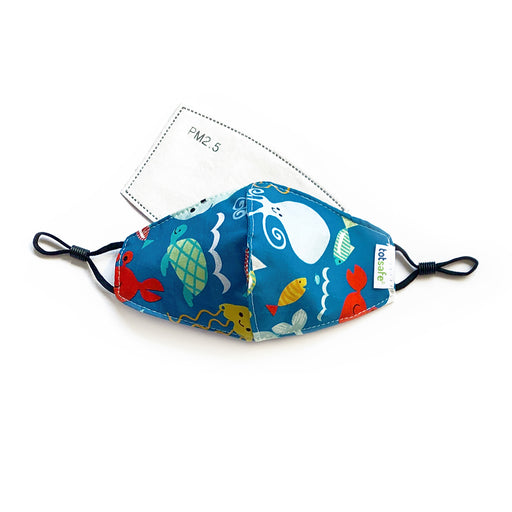 Totsafe Sea Animals Lifestyle Mask (1 Mask, 3 filters)