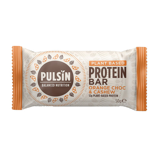 Pulsin Protein Booster Orange Choc Cashew 50g