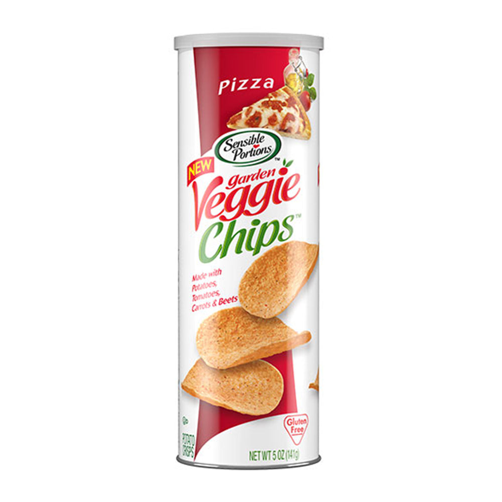 Sensible Portions Pizza Stacked Veggie Chips 5oz (141g)