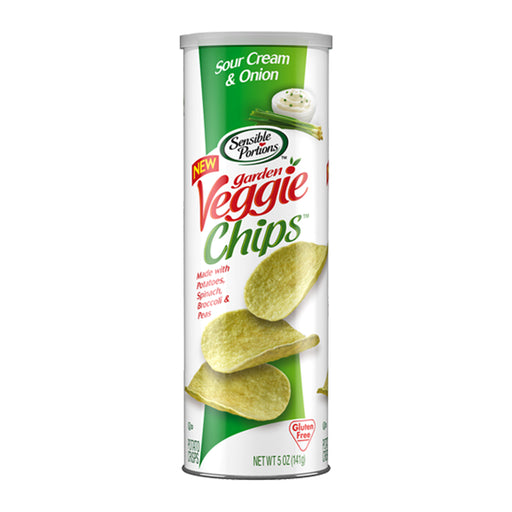 Sensible Portions Sour Cream & Onion Stacked Veggie Chips 5oz (141g)