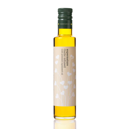 Supernature Infused Rapeseed Oil with Garlic 250ml
