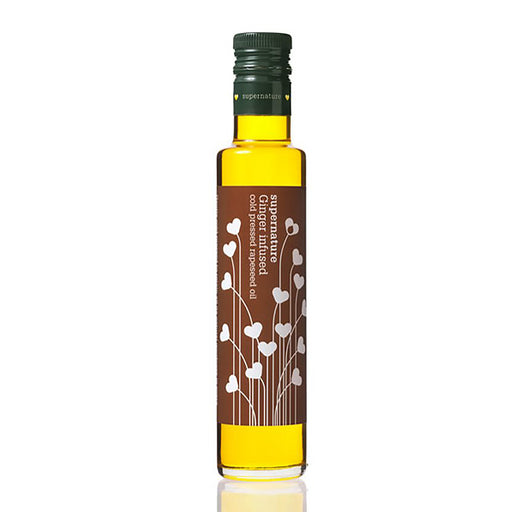 Supernature Infused Rapeseed Oil with Ginger 250ml