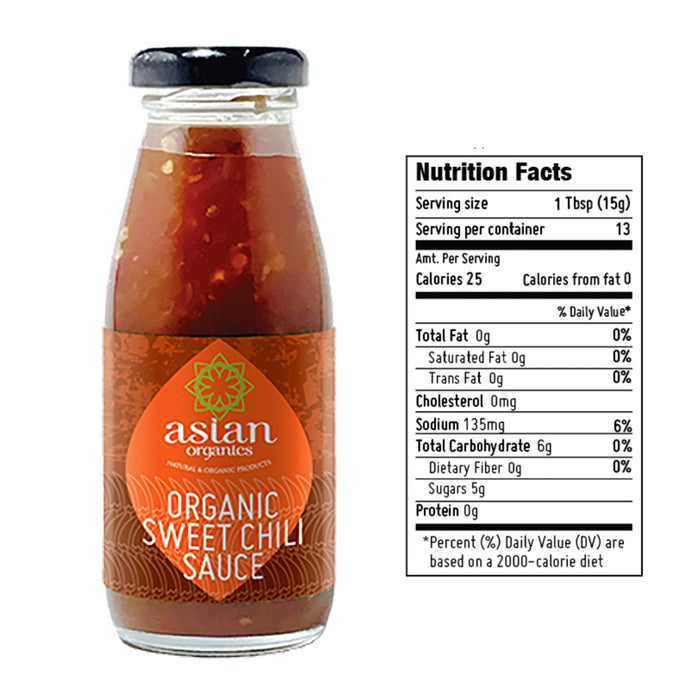 Asian Organics Sweet Chili Sauce 200ml