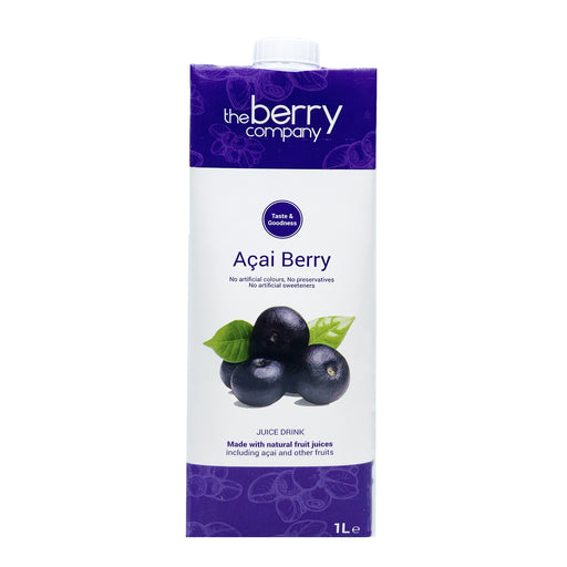 The Berry Company Acai Berry Juice 1L