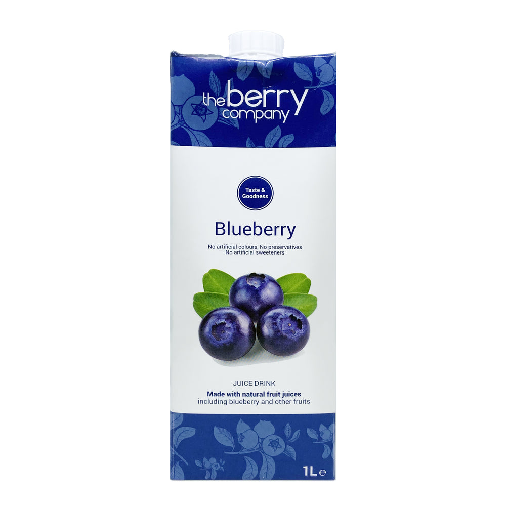 The Berry Company Blueberry Juice 1L