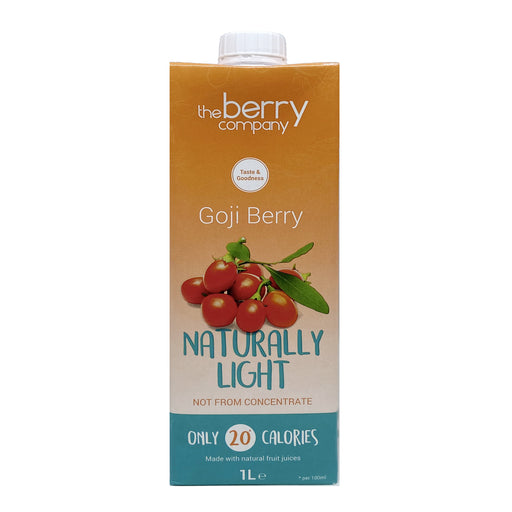 The Berry Company Naturally Light Goji Berry Juice 1L