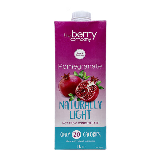 The Berry Company Naturally Light Pomegranate Juice 1L