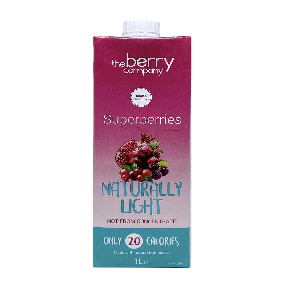 The Berry Company Naturally Light Superberries Red Juice 1L