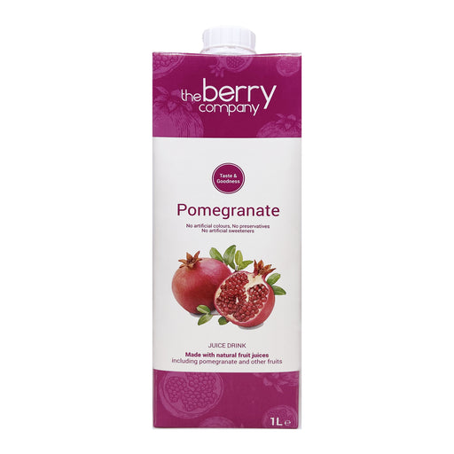 The Berry Company Pomegranate Juice 1L