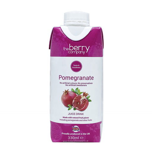 The Berry Company Pomegranate Juice 330ml