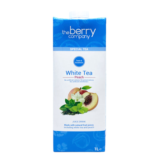 The Berry Company White Tea Peach Juice 1L