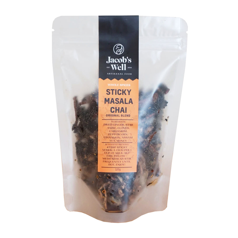 Jacob's Well Sticky Masala Chai Loose Leaf Tea 120g