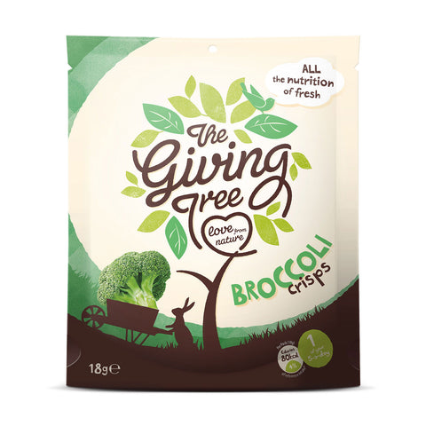 The Giving Tree Vacuum Fried Broccoli Crisps