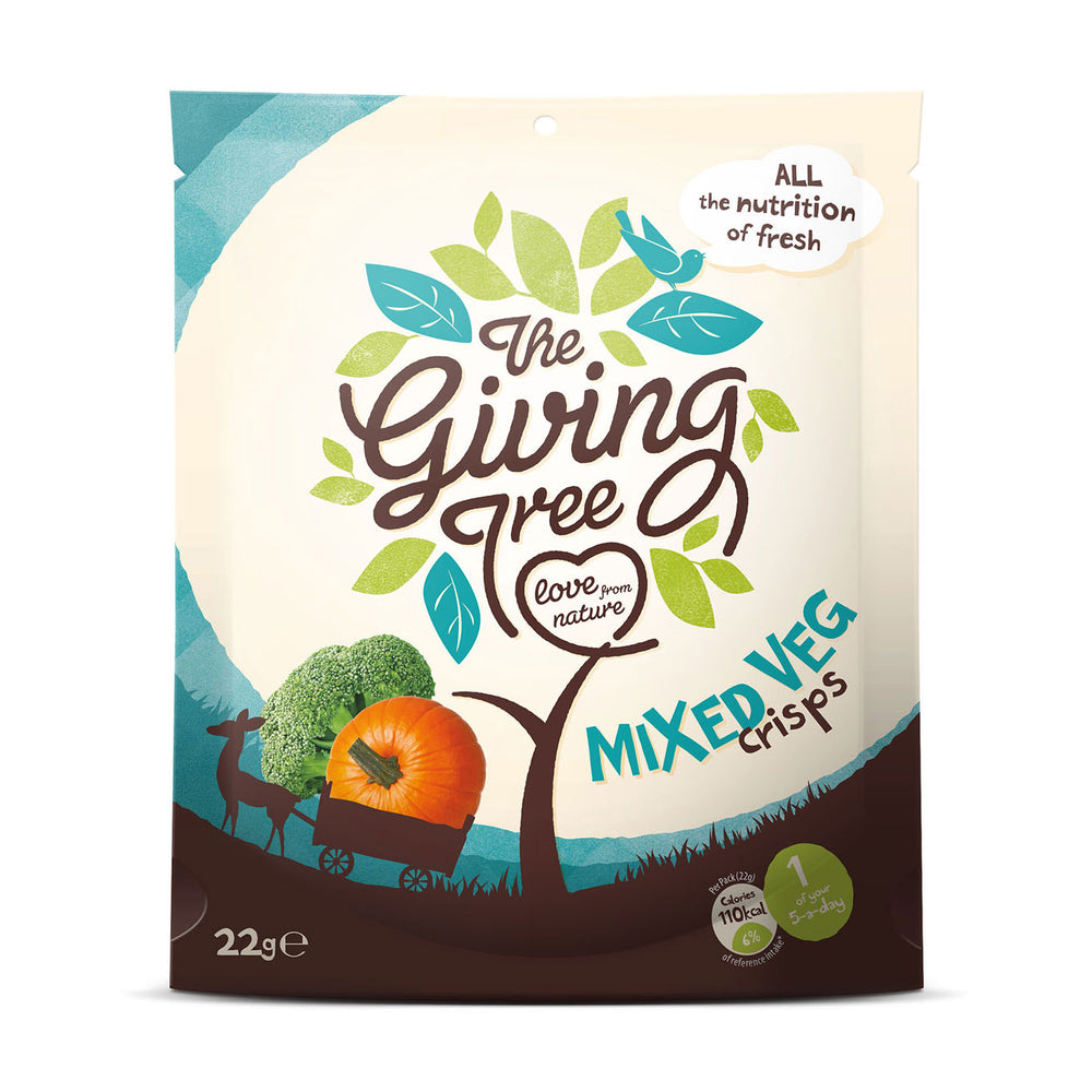 The Giving Tree Vacuum Fried Mix Veggies Crisps