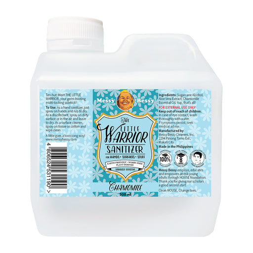 Messy Bessy The Little Warrior Chamomile 500ml Refill