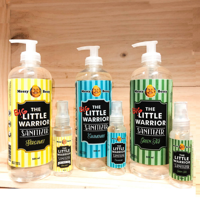 Messy Bessy The Little Warrior Chamomile 505ml Pump