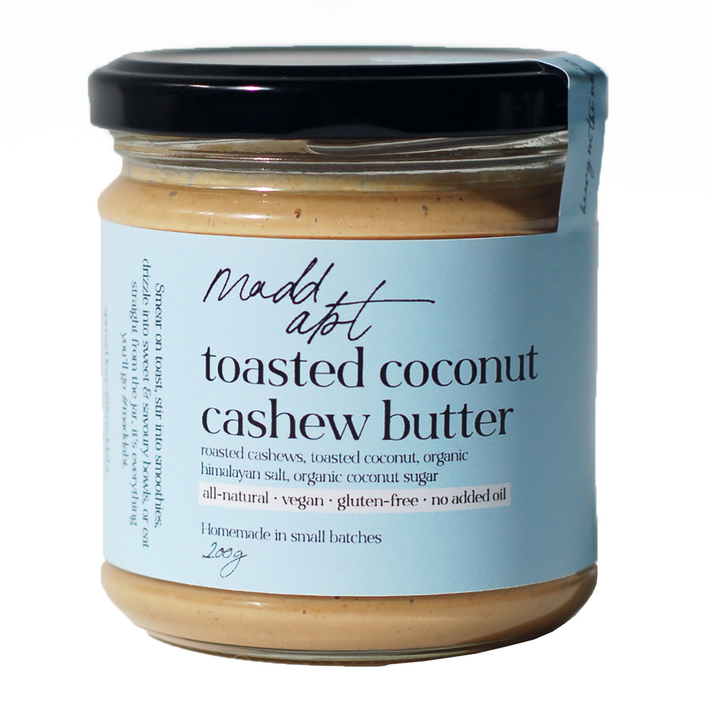 Madd Abt Toasted Coconut Cashew Butter 200g