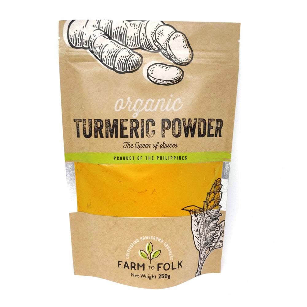 Farm to Folk Organic Turmeric Powder 250g