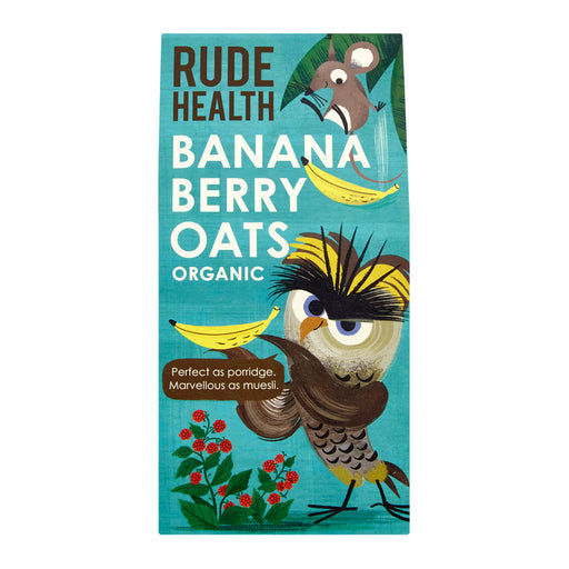 Rude Health Banana Berry Oats Porridge