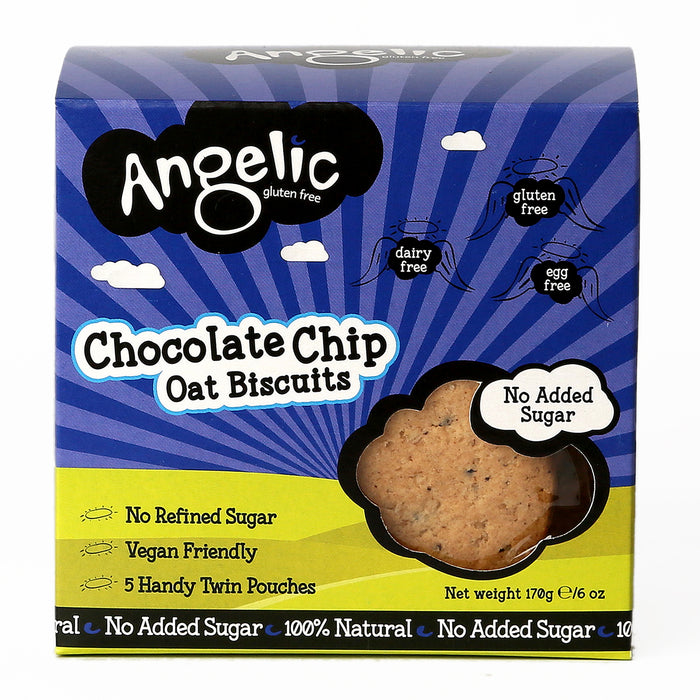 Angelic Chocolate Chip Oat Biscuits