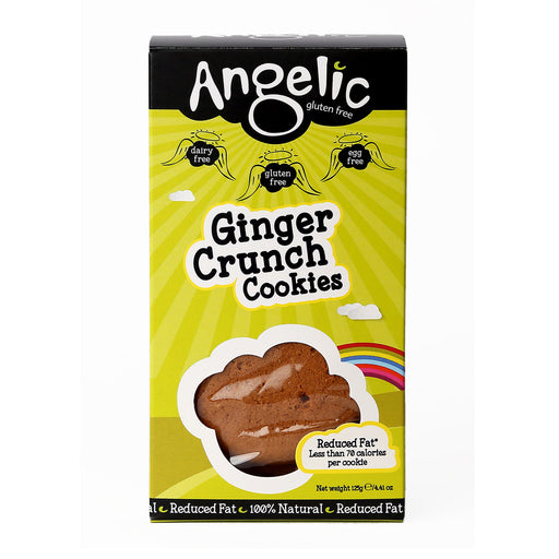 Angelic Ginger Crunch Cookies 125g