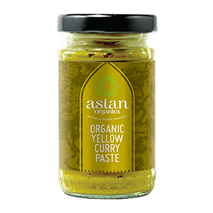 Asian Organics Organic Yellow Curry Paste 120g