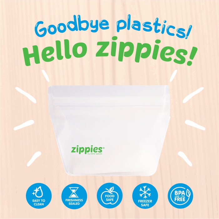 Zippies Reusable Stand Up Storage Bag XXL 169oz