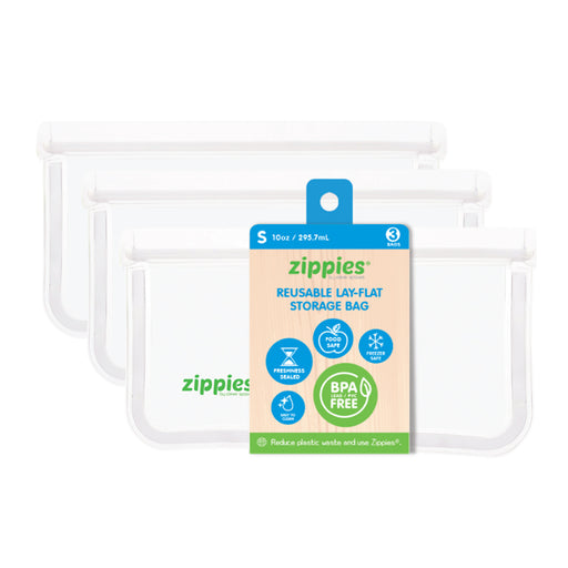 Zippies Reusable Lay Flat Storage Bag S 10oz