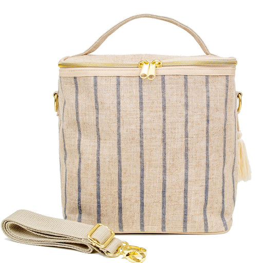 SoYoung Large Insulated Bag - Slate Pinstripe