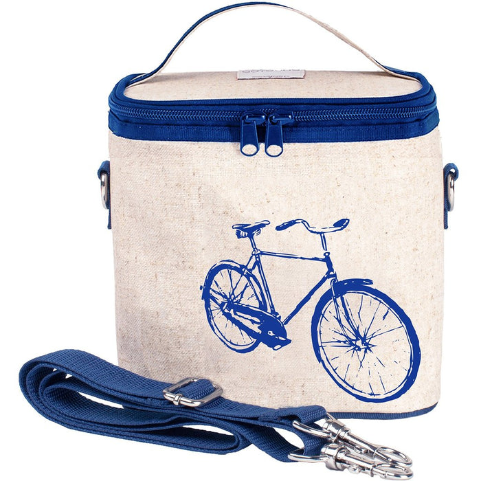 So Young Lunch Bag Blue Bicycle