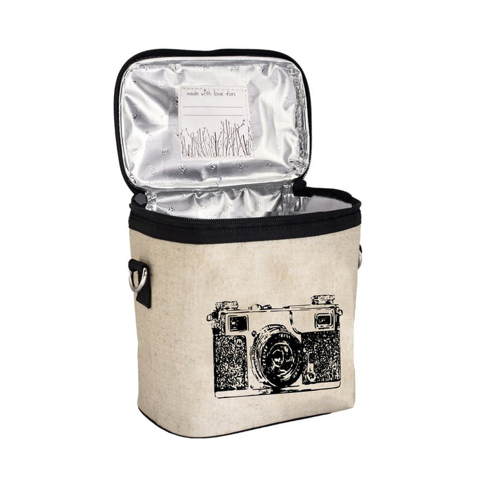 So Young Lunch Bag Black Camera