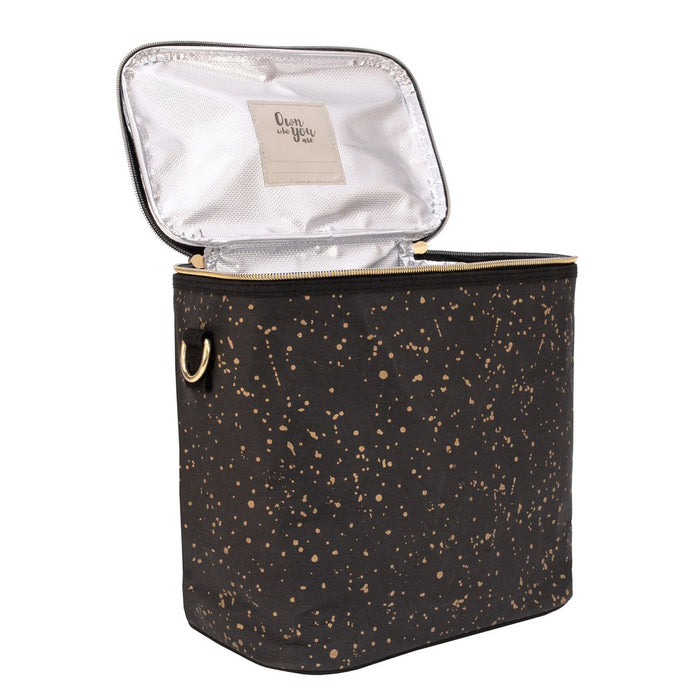 SoYoung Large Insulated Bag - Gold Splatter